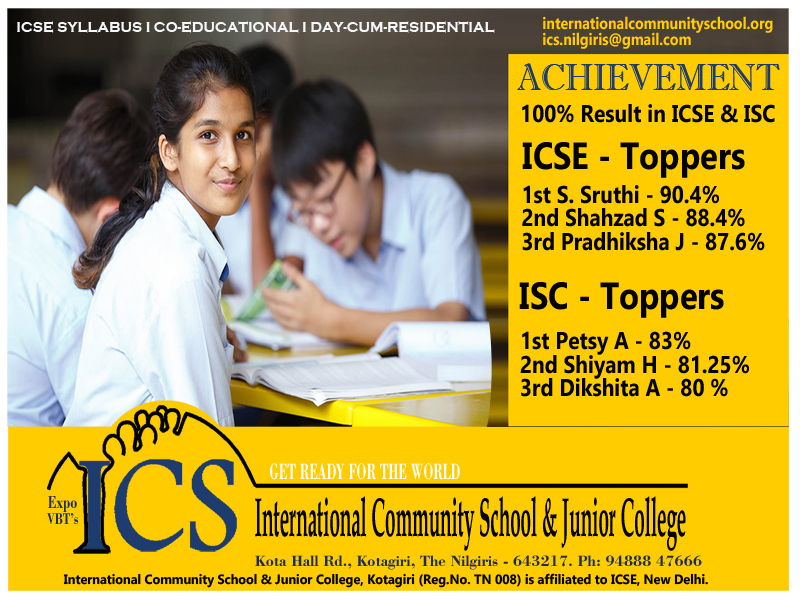 ICS Board result